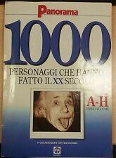 1000 PERSONAGGI CHE HANNO FATTO IL XX SECOLO -AA.VV- PANORAMA - 1992 - M