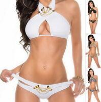 KouCla SUNNY BUNNY Women's Top & Bikini Swimwear Swimsuit Bikini Set - S/M/L