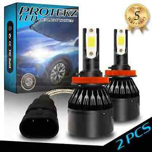 LED Headlight Protekz Kit High H9 6000K CREE for 2009-2012 Porsche CAYMAN