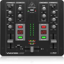 Behringer VMX100USB 2-Channel Rack-Mount DJ Mixer