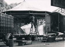 SAINT CLOUD c. 1950 - La Foire Montage Manège Forains - P 464