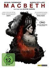 Macbeth (2016)(NEU/OVP) Neuverfilmung von Shakespeares Klassiker/Michael Fassben