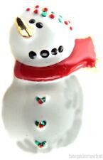 Snow Fun Brooch Pin Frosty the Snowman Christmas Winter