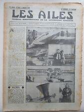AILES 1934 655 LeO H-242 CAUDRON 362 DELMOTTE SETIF ALGER LATECOERE 300 CIGOGNE