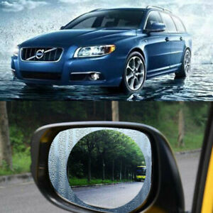 2Pcs Magic Car Anti Water Mist Film Anti Fog Rainproof Rearview Mirror Protector