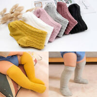Newborn Baby Girl Boy Socks Knee High Long Socks Winter Warm Tights Cotton Sock