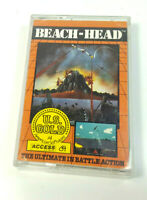 Beach Head US Gold 1984 Commodore 64 C64 Original Spiel CIB Cassette Datasette