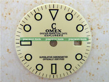 Explorer Ivory Color Cream Replacement Dial For DG2813 Mechanical 2813 Movement