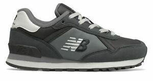 New Balance Kid's 515R Classic Big Kids Female Shoes Black with Grey