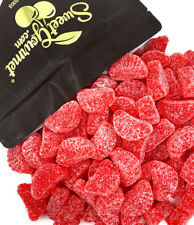 SweetGourmet Cherry Fruit Slices Red Jelly Candy Bulk | 2 Pounds