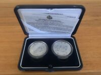 SAN MARINO Italy Silver Coin Set 5 10 Euro 2003 UNC PROOF Olympic Athens Greece