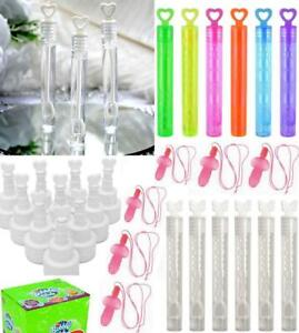 1-144 Wedding Wand Heart Bubble Table Decoration Favour Hen Party Games