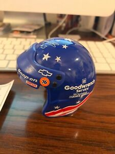 Dale Earnhardt Olympic Opened Face Jimmy Simpson Mini-Helmet Signature Edition