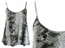Animal Print Tank, Cami Unbranded Machine Washable Tops & Blouses for Women