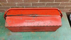 Vintage Metal Draper TB1750 Cantilever Toolbox