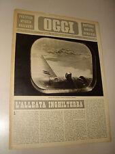 OGGI=1940/48=2° GUERRA MONDIALE=BOMBARDIERI AEREI ITALIANI=MORAVIA=ELSA MORANTE=