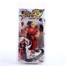 NECA Player Select Street Fighter IV Survival Ken Red Action Figure