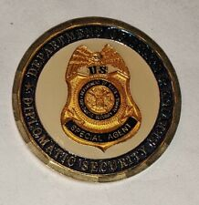 Challenge Coin Diplomatic Security Service U.S. State Department