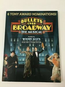 BULLETS OVER BROADWAY The Musical Script Woody Allen