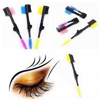 Double Sided Eyebrows Brush Eyelash Comb Mascara Separator Eeyebrow Makeup Brush