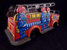 Ancien jouet camion de pompier tôle 1960 JAPAN No CR JOUSTRA CIJ NOREV JEP VEBE