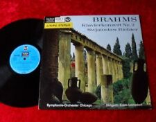 LP Johannes BRAHMS Klavierkonzert Nr. 2 Swjatoslaw Richter