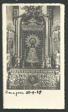 Estampa antigua Virgen del Pilar andachtsbild santino holy card santini