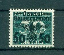 Postfrische Briefmarken aus dem Generalgouvernement (bis 1945)