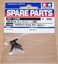 Tamiya 51290 TRF501X King Pin (4 Pcs.) (DB01/DB02/TRF511/TRF503/TRF502x/XV-01)