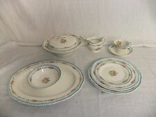 C4 Pottery Woods Ivory Ware pattern no.352 - vintage floral tableware - 3A5A