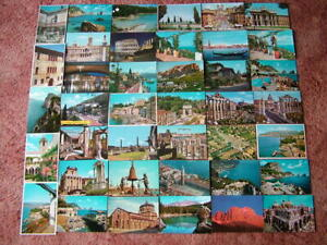 40 Unused Postcards of ITALY & ISLANDS. Good - Very good condition.