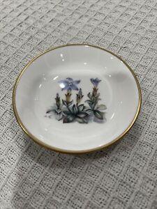 Royal Worcester Floral Pin Dish