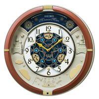 SEIKO CLOCK Wall Clock Analog 52 Song Melody RE601B Japan Import Fast Shipping