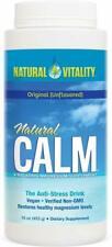 Natural Calm, Natural Vitality, 16 oz Regular