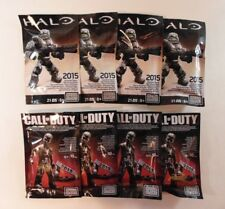 Halo and Call of Duty Exclusive SDCC 2015 Mega Blocks Figures Lot of 8