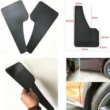 ABS- Black Mudguard 2PCS Mud Flaps Mud Guard Car Fender 43cm( H) * 21cm (W)