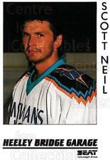 1995-96 UK British Elite Sheffield Steelers #10 Scott Neil