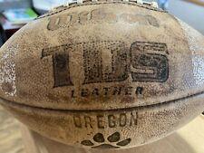 Old Oregon Highschool football