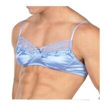 Xdress/Body aware  Men's Lace Bra Blue X-Large