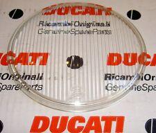 1960's-on Ducati NOS Aprilia 150mm headlamp lens 0445-38-275 also fit Moto Guzzi