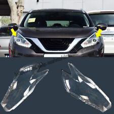 For Nissan Murano 2015 2016 2017 Headlight Headlamp Lens Cover Right&Left 2pcs