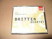 Brahms String Quartets Nos. 1-3 Britten Quartet 2 cd set 1995 Ex + Condition