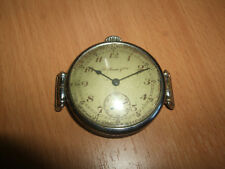часы Генри Мозер Henry Moser and si, the unpolished rare antique trench watch
