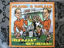 CD SINGLE VOETBAL SOCCER FRANK & RONALD DE BOER GELD MAAKT NIET GELUKKIG ORANJE