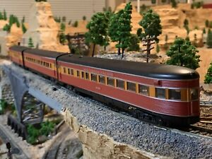 HO Scale Baggage Coach Observation Passenger Cars SP Southern Pacific Daylight !
