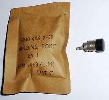 Borne d'instrument électrique par pinçage de fil US NOS NIB