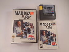 Madden Nfl 96 Sega Genesis 1995 Cib Complete Football Video Game Tested