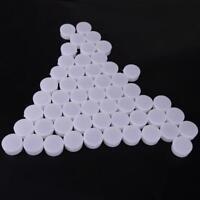 Empty Cosmetic Container Cream Box 50 Pcs Pot Jar Jars Makeup Plastic Lip Balm