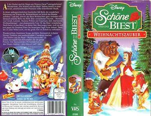 (VHS) Die Schöne und das Biest - Weihnachtszauber -  Walt Disney (1997)