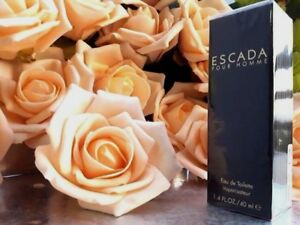 ❤️ESCADA POUR HOMME,EDT,1.3oz 40ml.,perfect,sealed,hard to find!